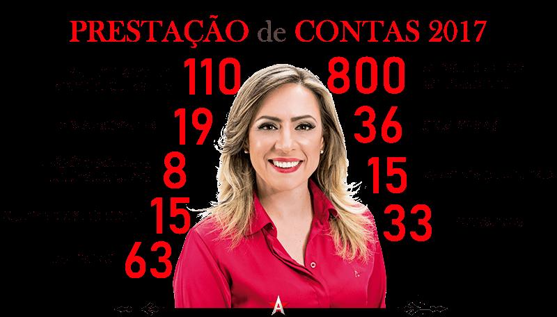 Adriana Accorsi presta contas do mandato em 2017