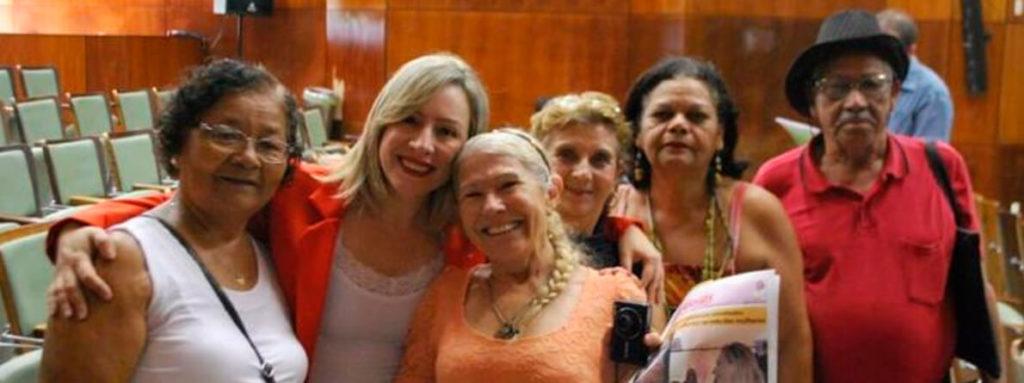 A Delegada Adriana Accorsi atua em defesa dos idosos