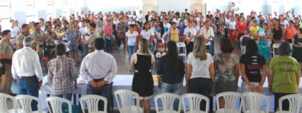 Delegada Adriana Accorsi em Iporá