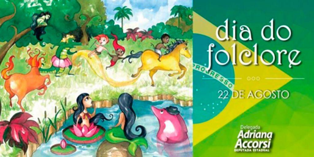 A deputada Adriana Accorsi apoia a cultura brasileira, por isso, com muita alegria, celebra com todos os goianos, nesta segunda-feira, 22/8, o Dia do Folclore.