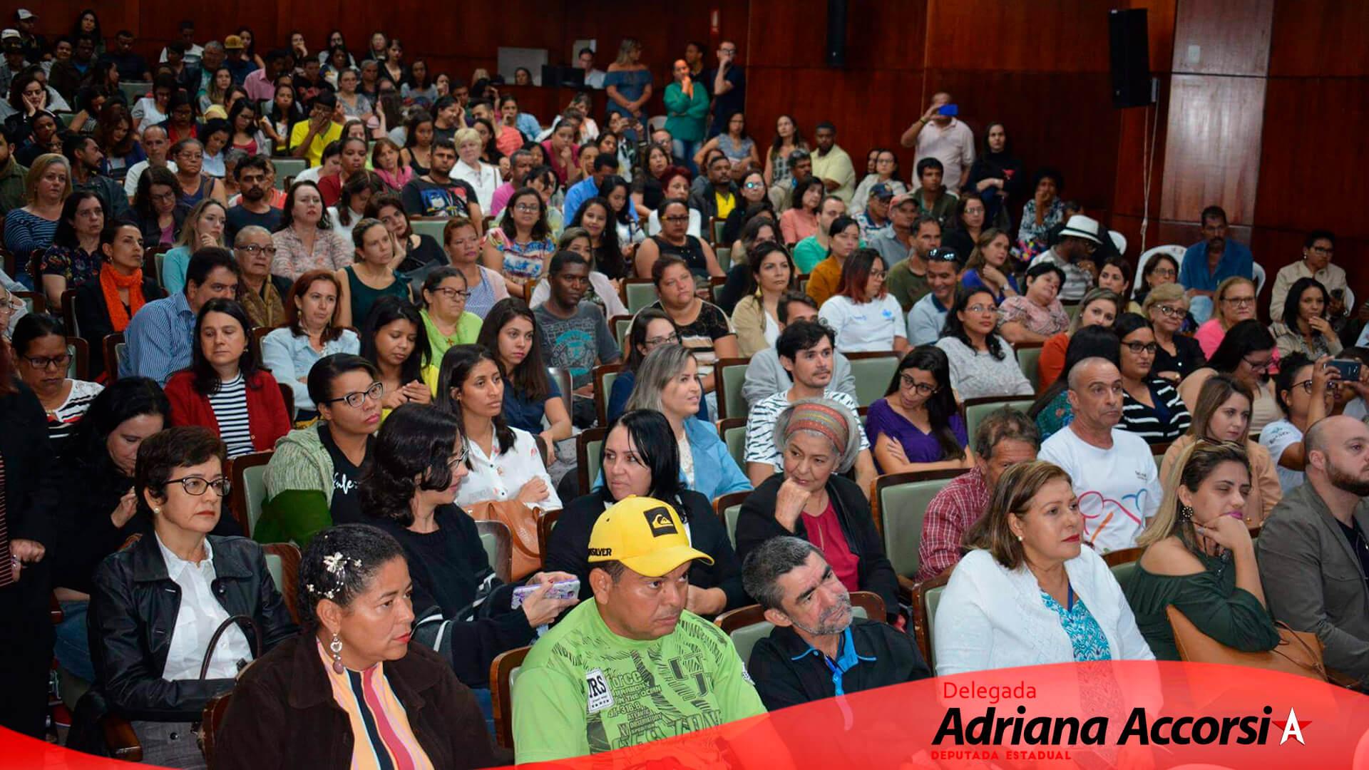 Audiência pública com o tema Fortalecimento da Rede de Atenção Psicossocial no Estado de Goiás