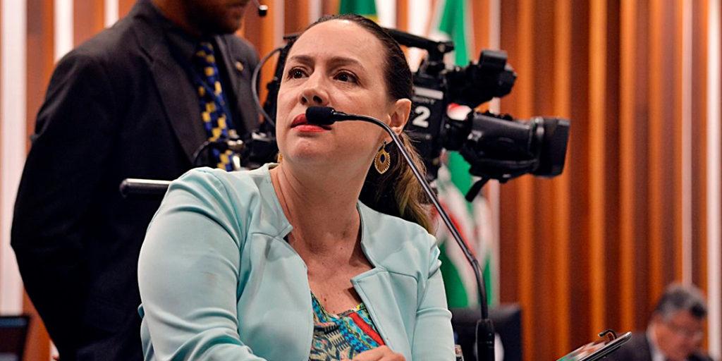 A deputada estadual Delegada Adriana Accorsi, líder do Partido dos Trabalhadores na Assembleia Legislativa, usou do Pequeno Expediente durante a sessão ordinária, para criticar a privatização da Companhia Energética de Goiás (Celg) e a qualidade do serviço prestado pela atual empresa, a Enel.