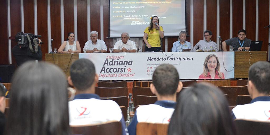 O evento ocorreu no auditório Costa Lima da Assembleia Legislativa de Goiás e teve entre suas decisões a proposta de criação de um Fundo em prol do Cerrado.