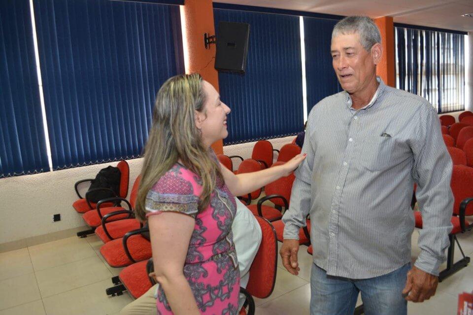 Reunião organizada pela companheira Luciana do Carmo, Presidenta do PT