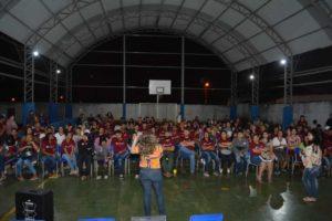 A deputada Delegada Adriana Accorsi participou de um evento na OAB - subseção Anápolis