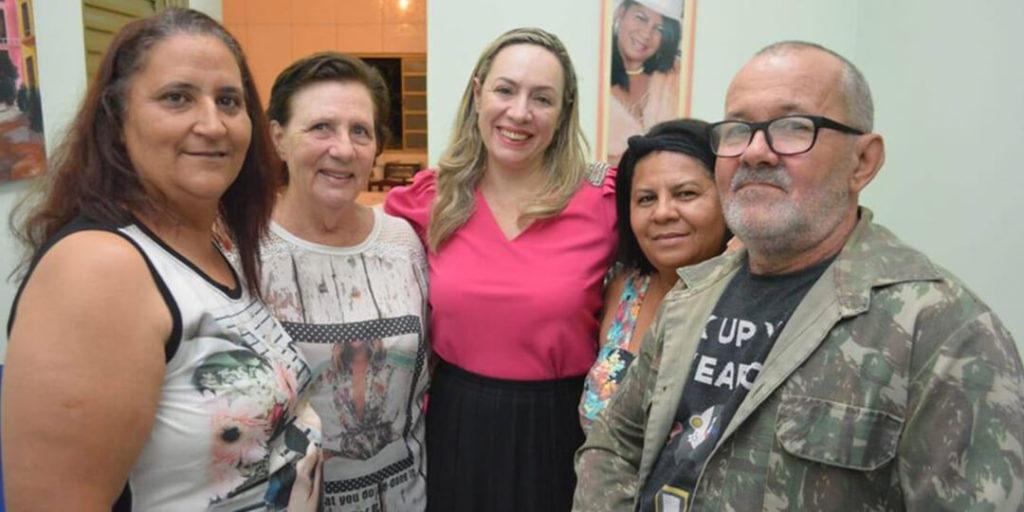 No dia 3 de dezembro, a deputada estadual Delegada Adriana Accorsi esteve na cidade de Bela Vista de Goiás
