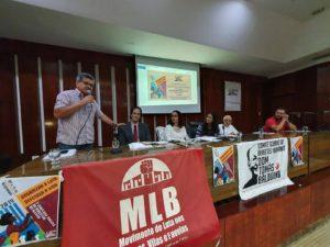 Mandato Presente na Audiência Pública para a Entrega do Relatório de Violações de Direitos Humanos no Estado de Goiás em 2019
