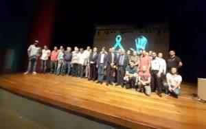 Mandato Presente na Campanha Laço Branco - Homens Pelo Fim da Violência Contra a Mulher