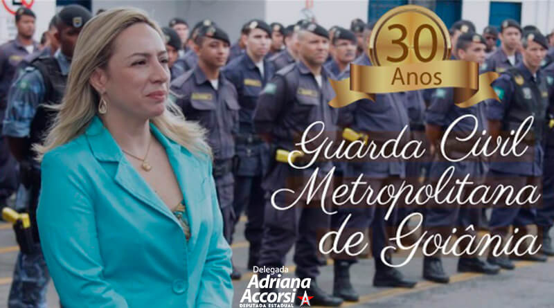 Delegada Adriana Accorsi e a Guarda Civil Metropolitana