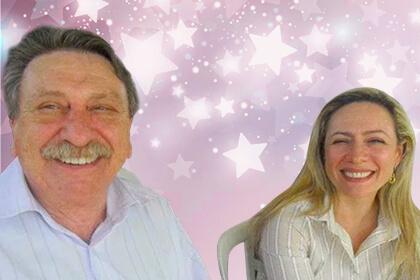 Adriana Accorsi e seu pai Darci Accorsi