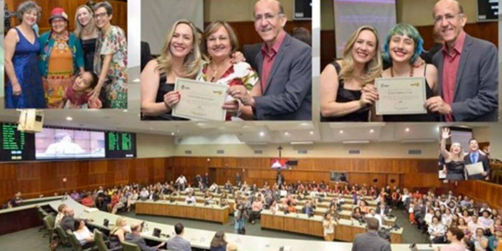 Em celebração ao Dia do Professor, comemorado em 15 de outubro, a deputada estadual Delegada Adriana Accorsi (PT), realizou sessão especial em homenagem aos mestres.