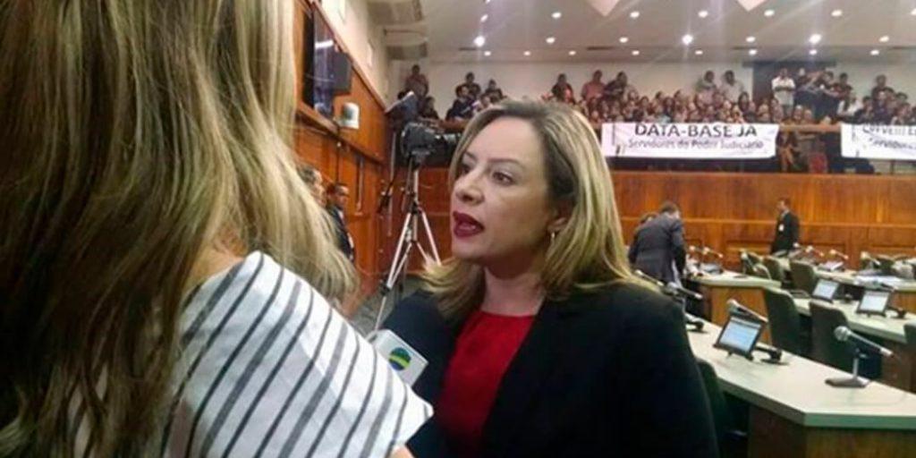 A deputada estadual Delegada Adriana Accorsi apresentou, na tarde desta quinta-feira (25), projeto de lei que institui a Campanha Estadual de Mobilização contra o Comércio de Produtos de Origem Criminosa.