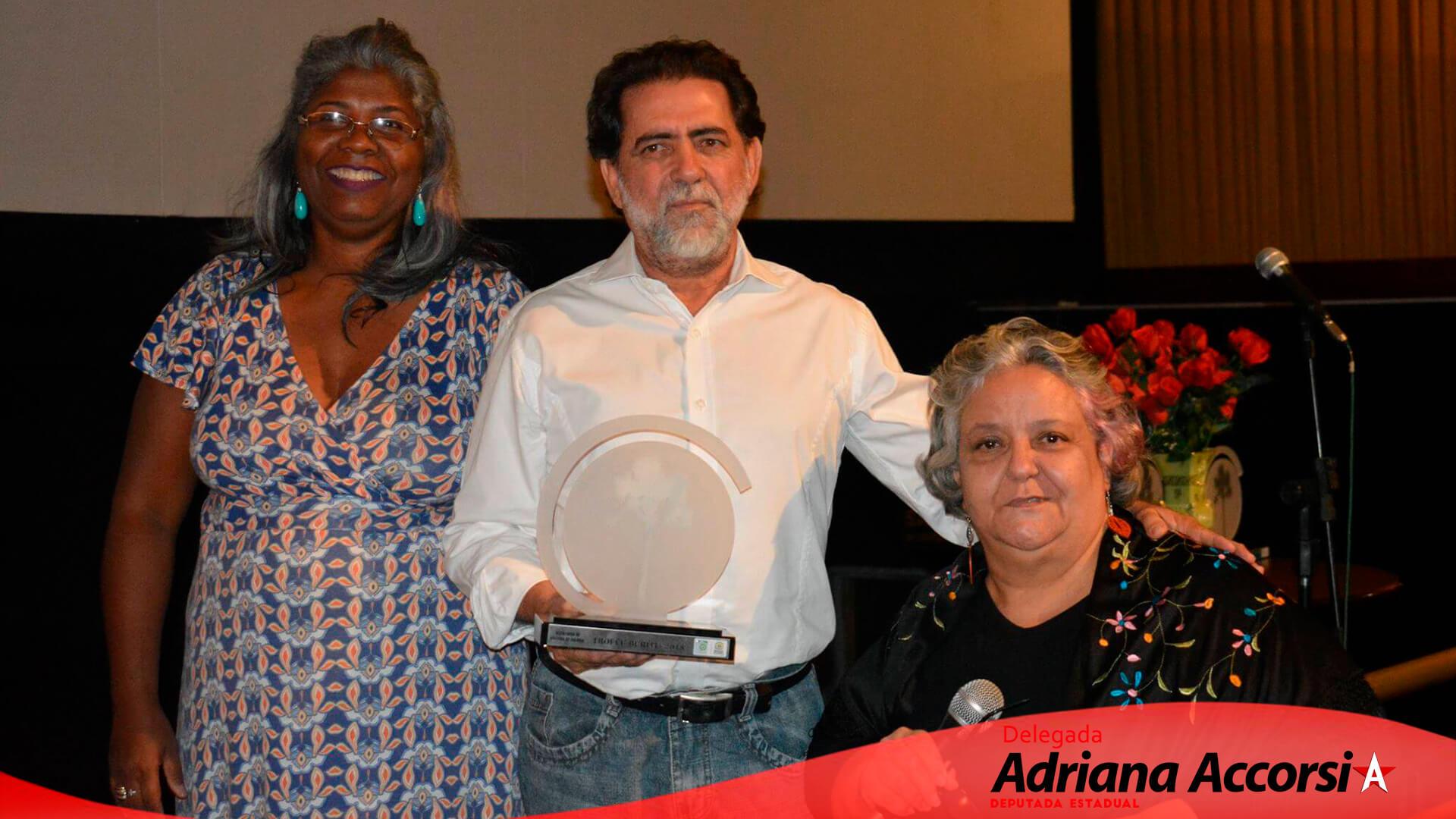 Entrega do Troféu Buriti aos destaques do ano na Cultura da capital