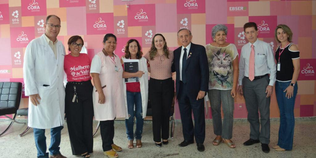 Ela reafirmou a importância do evento sobre a prevenção e tratamento do Câncer de mama promovido pela APCAM