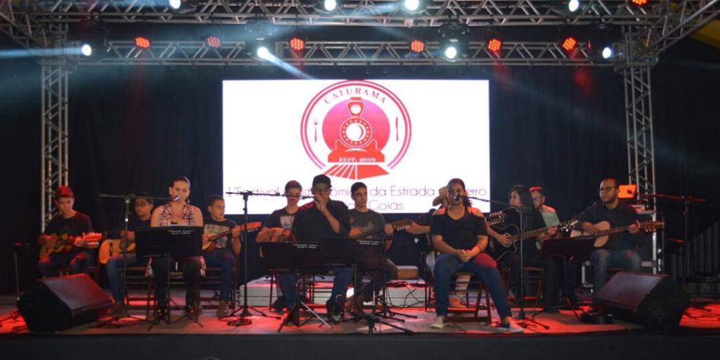 1° Festival Gastronômico da Estrada de Ferro, na cidade de Silvânia